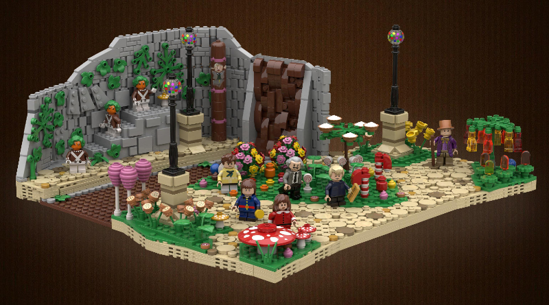Lego Willy Wonka Featured
