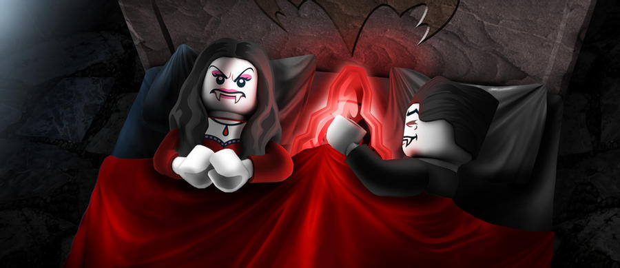 Lego Monster Fighters   Lord Vampyre In Be