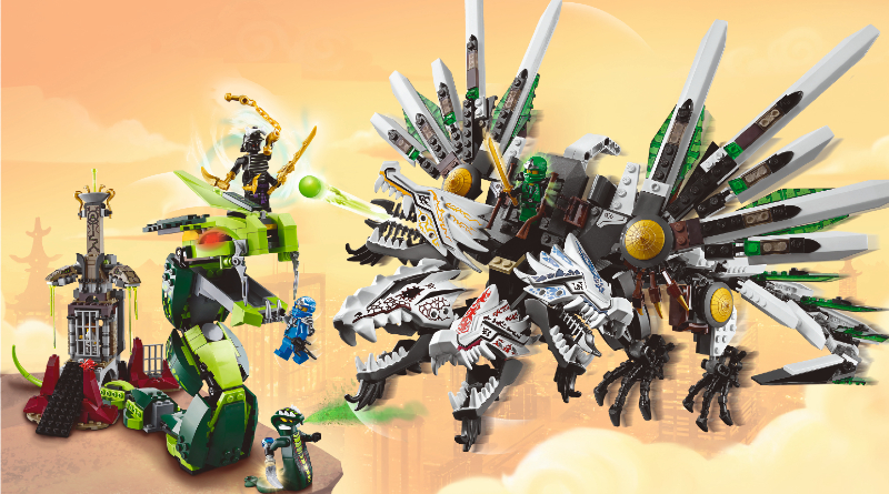 Ninjago From Thought To Theme Epic Dragon Battle Featured