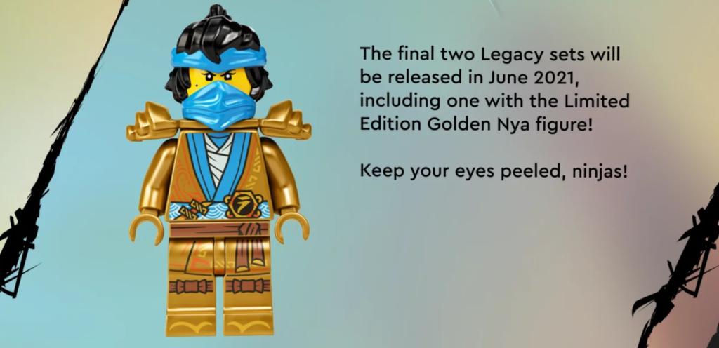 Ninjago Nya Golden Legacy