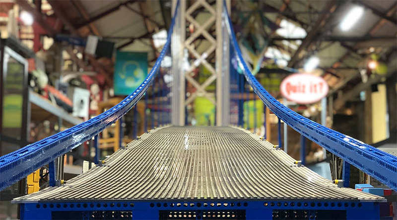 Record Breaking Bridge LEGO Featured
